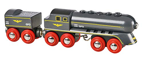 BRIO World Speedy Bullet Train for Kids Age 3 Years and Up, Compatible with all BRIO Train Sets