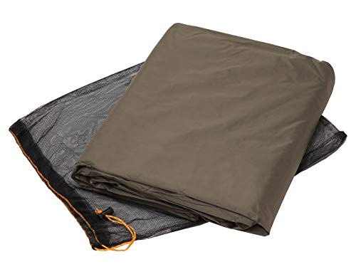 VAUDE Unisex– Adult's Hogan UL Tent Ground Sheet, Bark, 2P