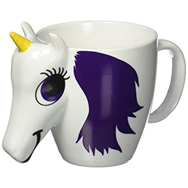Thumbsup UK, UNIMUGCC Unicorn Mug, Color Changing, Multicolor