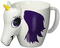 Wärmeempfindliche Tasse (wechselt bei heißen Getränken die Farbe) Hergestellt aus hochwertiger Keramik Nicht spülmaschinen- oder mikrowellengeeignet Fassungsvermögen: 300 ml