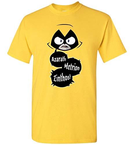 xx Raven Azarath Metrion Zinthos Teen Titans T-Shirt,Camisetas y Tops(X-Large)