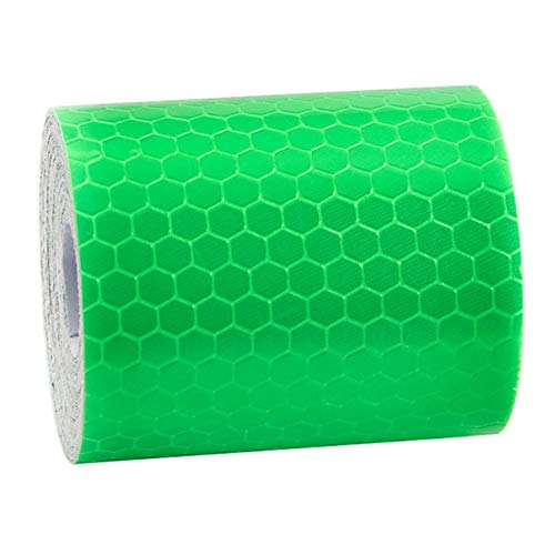 BoaInx Sicherheitswarnung 1 Rollenauto-Reflexfolie Aufkleber Safety Mark Car Styling Self Adhesive warnende Band Motorrad-Fahrrad-Film-Dekoration-Werkzeug Reflektierendes Warnband (Color : F)