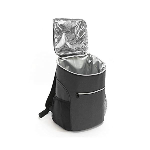 416uhg+MjGL. SS600  - CVJKFC Neveras de Acampada Mochila De Refrigeración Aislada Al Aire Libre De 20L Bolsa De Refrigeración con Aislamiento…