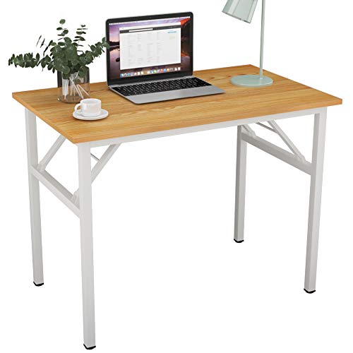 SogesPower Mesa Plegable, Mesa para computadora, mesas portátiles de Alto Rendimiento para Oficina en casa, estación...