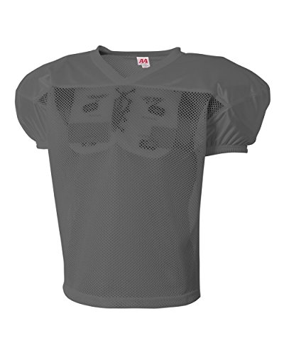 A4 Sportswear Graphite Youth Large/XL Football Drills Practice Jersey