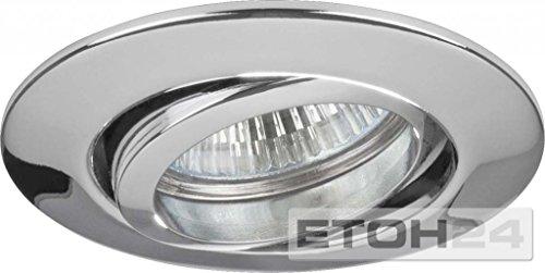 Brumberg Leuchten NV-Einbaustrahler 00196303 GX5,3 50W chr-mt Downlight/Strahler/Flutlicht 4250047771524