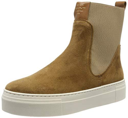 GANT Footwear Damen Marie Stiefeletten, Grün (Warm Khaki G771), 42 EU