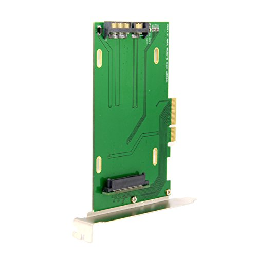 Cablecc PCI-E 3.0 x4 Lane to U.2 U2 Kit adaptador de host SFF-8639 para placa base Intel y 750 NVMe PCIe SSD