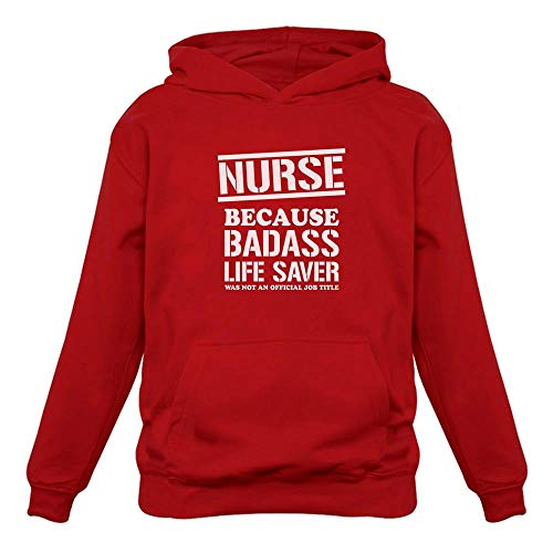 Situen Funny - Nur.se Bad*SS Life.Saver Hoodie - Front Print Hoodie for Men And Woman.