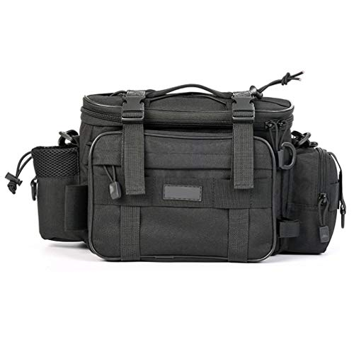 Toporchid Sport Outdoor Angeltasche Kamera Fototasche Multifunktionstaschen Umhängetaschen (Schwarz)