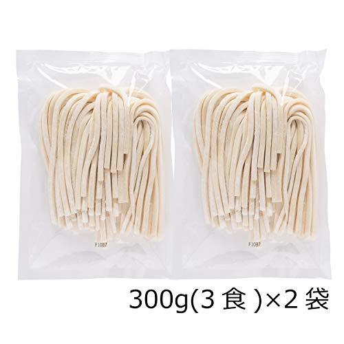 厳選した小麦粉(一等粉)100% うどん 極太麺 6食〔300g×2〕 ポスト投函便配送