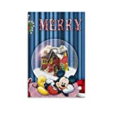 Póster de dibujos animados de Mickey Min-nie Mouse de Dragon Vines, 50 x 75 cm