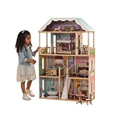 14-Piece furniture and accessory set 4 levels, 6 rooms and twin Balconies Classic design with scalloped details and pastel colors Open, airy windows Ez kraft assembly for rapid assembly For quicker and easier assembly instructions, download the free ...