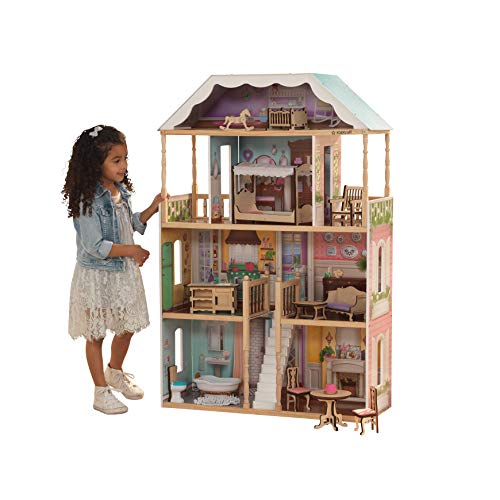 KidKraft 65956 Charlotte Dollhouse with Ez Kraft Assembly Dollhouses,...