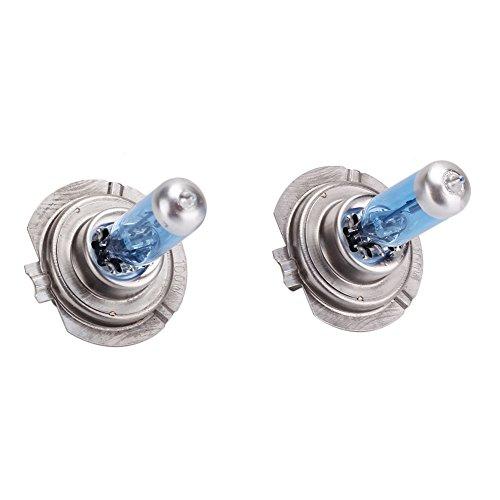 styleinside® Lot de 2 ampoules halogènes H7 pour phares de voiture - 12 V - 100 W - 6000 K - Blanc froid