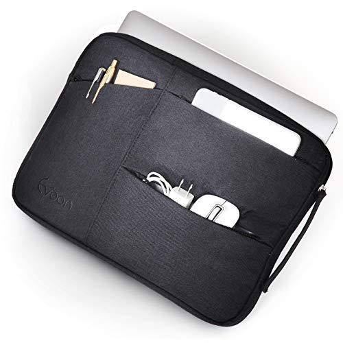 Evoonパソコンケースノートパソコンケース13-13.3インチ防水/衝撃吸収/多機能macbookair13/MacBookPro13/surfacepro/インナーバックPCケースPCバッグパソコンバッグ(13.3inchブラック)