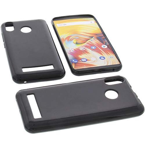 foto-kontor Funda para Vernee T3 Pro Protectora de Goma TPU para móvil Negra