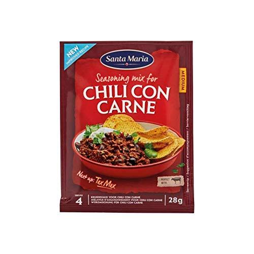 Chili con Carne mix | Santa Maria | Sazonador Mix para Chili