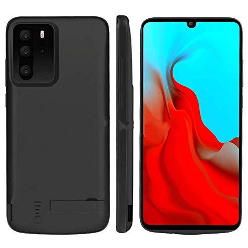 Fey-EU Funda Bateria para Huawei P30 Pro, 5000mAh Recargable Externo Cargador de Respaldo Extendido Banco Energía Portátil Cubierta Protectora Extra Pack Cover para Huawei P30 Pro, Negro