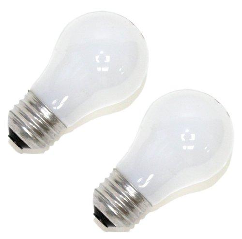 Sylvania Soft White Incandescent A15 Bulb, Medium Base   15 Watts/120 Volts   2-Bulbs Per Pack (6-Bulbs Total)