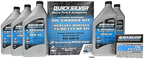 Quicksilver Mercury Mercruiser 8M0081913 Oil 75 New product type 9 Special price for a limited time Change Kit for
