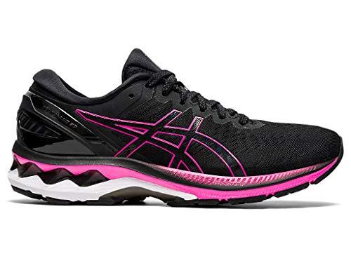 ASICS Gel-Kayano 27 - Zapatillas de running para mujer, Negro (rosado, negro (Black/Pink Glo)), 38 EU