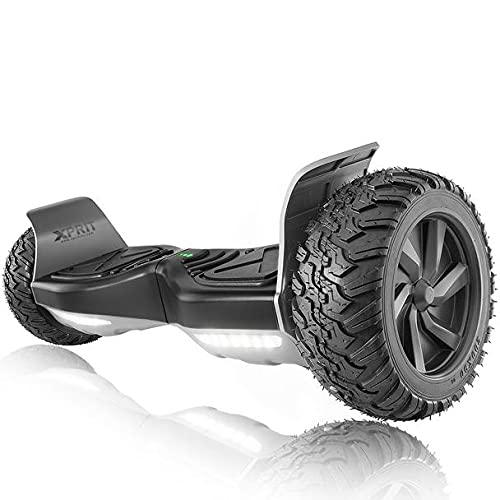 XPRIT 8.5'' All Terrain Off-Road Hoverboard w/Bluetooth Speaker, LED...
