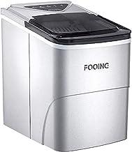 Machine à glaçons FOOING Machine à glaçons Machine à glaçons Comptoir prêt en 6 minutes Machine à glaçons 2L avec cuillère...