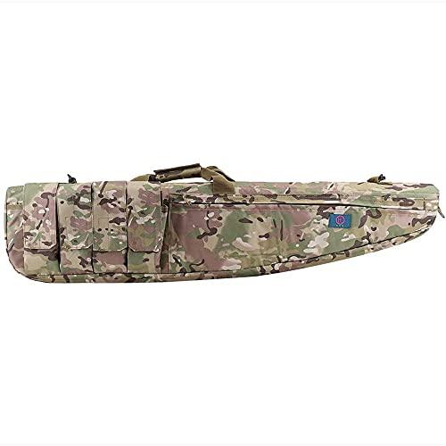 HGJDKSJ Bolsa para Rifle, Funda para Armas Largas, Bolsa para Rifle Funda para Transporte de Armas, para Campo de Tiro de Caza Almacenamiento y Transporte de Deportes,120cm