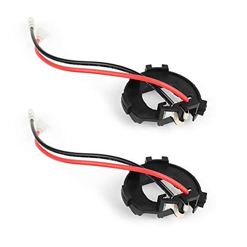 Broadroot 2 stuks adapter voor H7 LED-lampen met koplampen voor Vito Golf Jetta Mk7