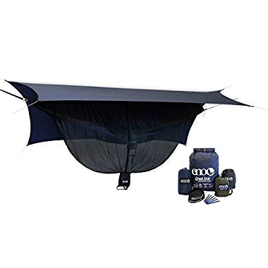 Eagles Nest Outfitters ENO DoubleNest Insect Shield OneLink Sleep System, ENO Hammock Pack