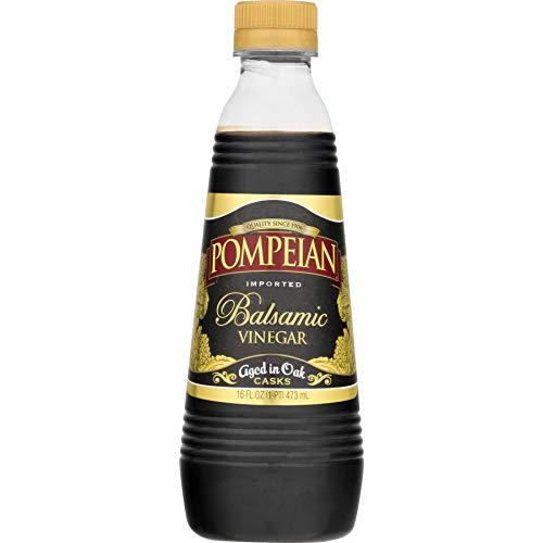 Pompeian Balsamic Vinegar Aged in Oak 16 Oz (Pack of 2)