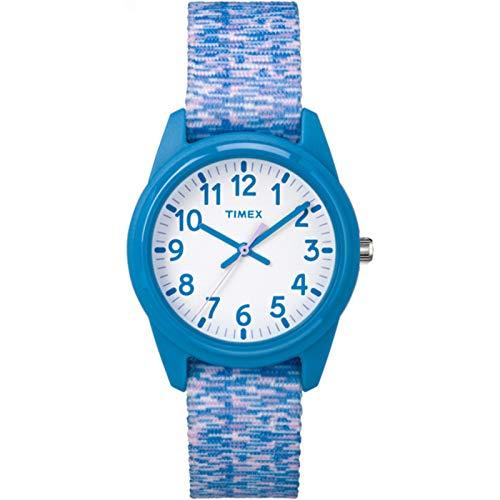 Timex Unisex Kinder Analog Quarz Uhr mit Nylon Armband TW7C12100
