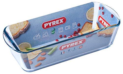 Pyrex Kastenform Königskuchenform Brotbackform aus Hochwertiges Glas 28, 30 cm (30 cm)