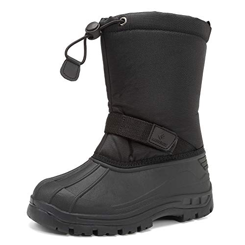 Kids Snow Boots for Boys Girls Toddler Winter Outdoor Boots Waterproof with Fur Lined(Toddler/Little Kids/Big Kid)