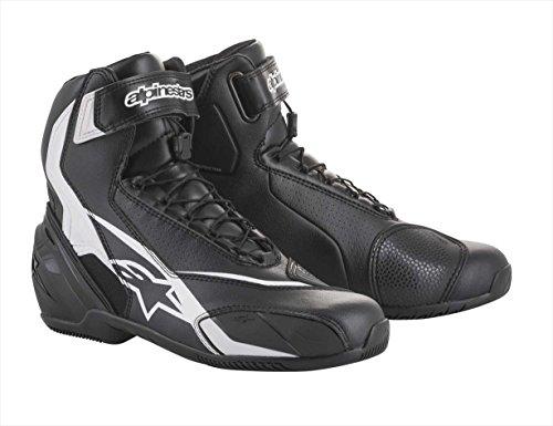 Bottes moto Alpinestars Sp-1 V2 Shoes Black White, Noir/Blanc, 40
