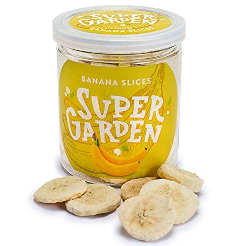 Supergarden frutas y bayas tropicales liofilizadas (Plátano)