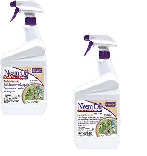 Bonide (BND022 - Ready to Use Neem Oil, Insect Pesticide for Organic Gardening (32 oz.) - 2 Pack