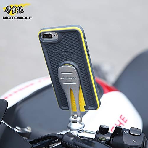 Soporte para teléfono móvil para Motocicletas eléctricas para vehículos Todo Terreno, Soporte para teléfono móvil Soporte Especial de navegación para teléfonos móviles Apple