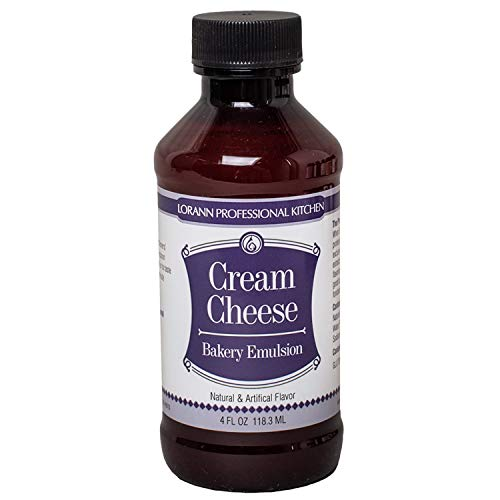 LorAnn Cream Cheese Bakery Emulsion, 4 ounce bottle