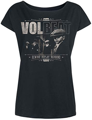 Volbeat The Gang Frauen T-Shirt schwarz XXL, 100% Baumwolle, Band-Merch, Bands