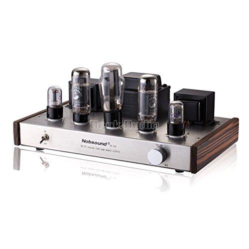 Nobsound® Douk Audio HiFi EL34 Valve Tube Amplifier Classic 2.0 Channel Stereo Single-Ended Class A Röhrenverstärker Power Verstärker 12Wx2