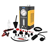 AUTOOL SDT-206 EVAP Leak Detector, 12V Automotive Pipe Fuel Leakage Tester Diagnostic Machine Support Pipe Systems/Motorcycle/Cars/SUVs/Boat with Pressure Gauge