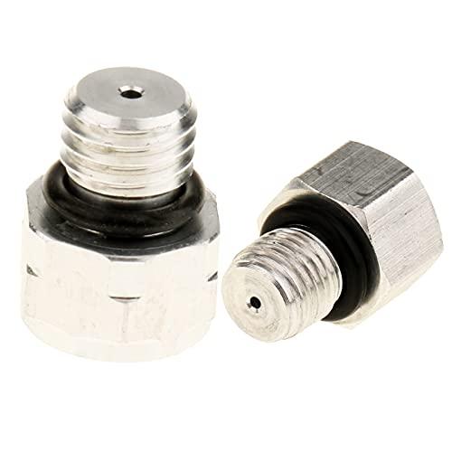 ZYDSD Valvole di Sicurezza della Pressione del compressore del condizionatore d'Aria dell'automobile da 2 Pezzi 1mm 1,5mm