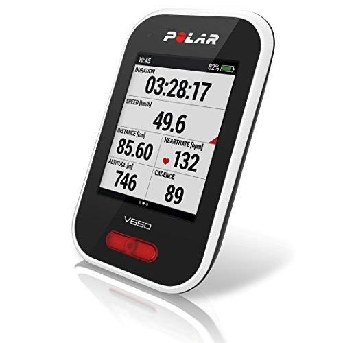 POLAR(ポラール)V650(GPS内蔵サイクルコンピュータ)【日本語対応/日本正規品】90050531