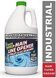 Green Gobbler Ultimate Main Drain Opener + Drain Cleaner + Hair Clog Remover - 64 oz (Main Lines,...