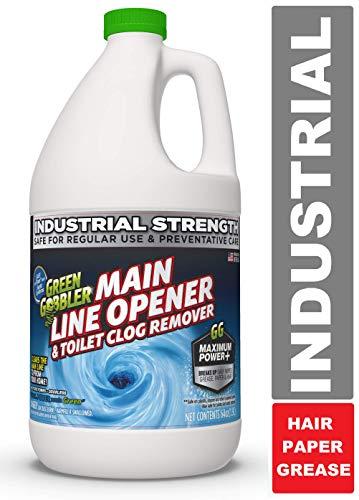 Green Gobbler Ultimate Main Drain Opener + Drain Cleaner + Hair Clog...