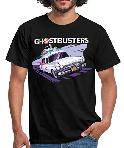 Men's Ghostbusters Ecto 1 Car T-shirt, S to 4XL