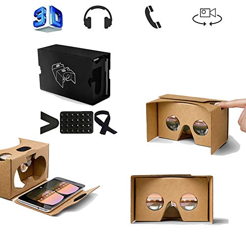Best Price WJH9 VR Headset, Virtual Reality Headset, 3D Glasses, VR Glasses, Universal Virtual Reali...