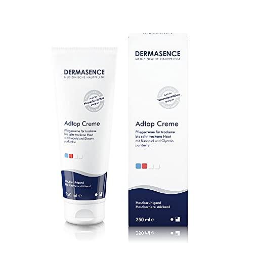 Dermasence Adtop Creme - reichhaltige Pflege für die trockene bis sehr trockene, zu Neurodermitis neigende Haut - 250 ml